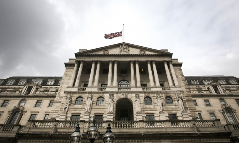 BoE; Interest Rate held at0.25%