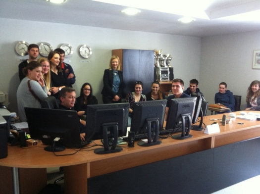 Mario Urlic and students 2014