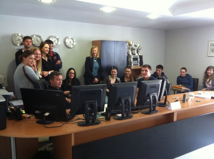 Mario Urlic and students 2014