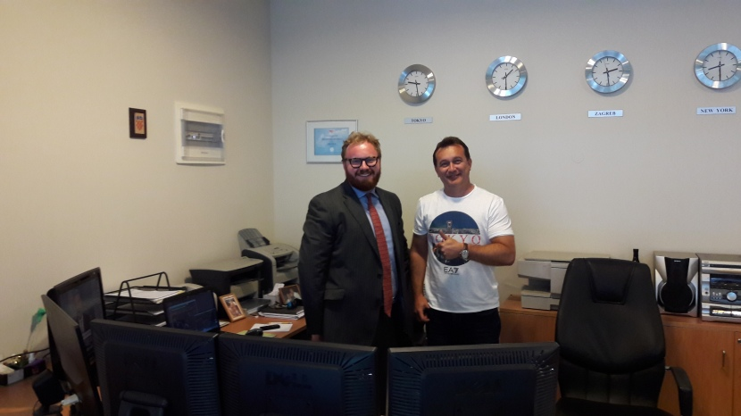 Bloomberg team visits AureusInvest