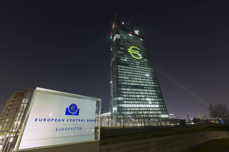 The ECB remain rates unchanged at 0.00%, 0.25% and-0.40%