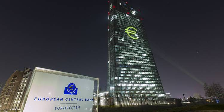 The ECB remain rates unchanged at 0.00%, 0.25% and -0.40%