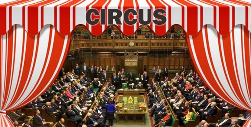UK Parliament and Brexit; What a Circus