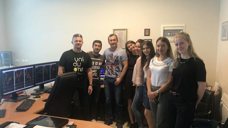 Erasmus students and Aureus Invest 2019